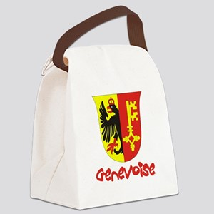 [genevoise] Canvas Lunch Bag